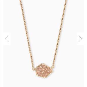 Sand Drusy Necklace